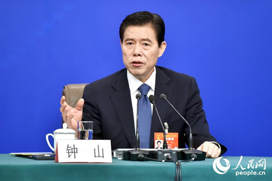 China to seek stable, better-structured trade in 2019: commerce minister