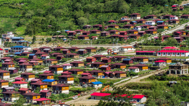 China lifts last county connected to highway out of poverty