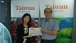 Kunyuan Lin: Taiwan is not big but its natural resources and landscapes are very amazing.