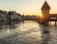 Lucerne is a city of town squares and churches