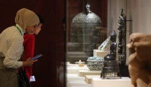 Asian civilizations exhibit shows beauty of dialogue