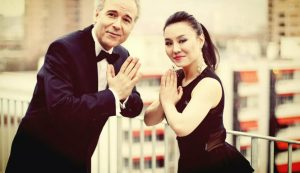 The Voice of China in Switzerland , Interview with Swiss Chinese singer Bai Xue and her team