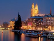 The city of Zurich lies in the heart of Europe and at the center of Switzerland