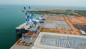Co-construction of ports enhances maritime connectivity
