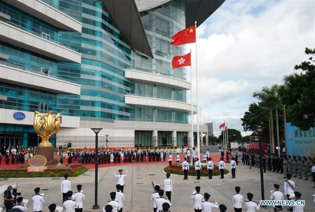 Newly passed national security law a seawall safeguarding long-term prosperity, stability of Hong Kong