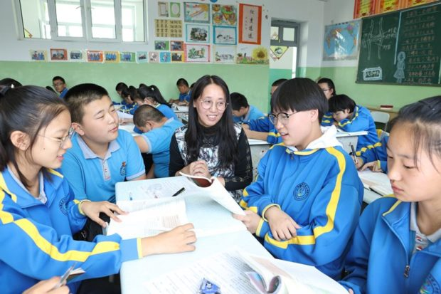 College graduate teaches in West China, contributes to the region's development