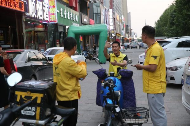 China's catering industry is flourishing