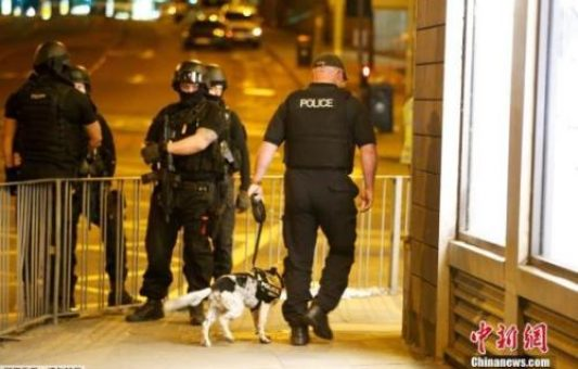 "22 killed, 59 injured in ""one-man terrorist attack"" in Manchester: police"