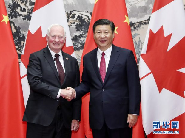 Chinese president calls for stronger cooperation with Canada