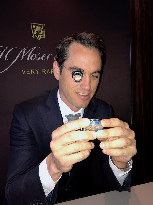Baselworld 2017: Interview with Edouard Meylan, CEO H. Moser & Cie.