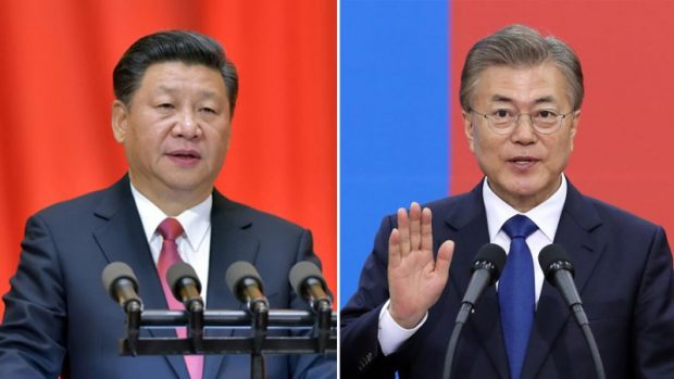 China willing to work with S. Korea, Xi tells Moon in phone conversation