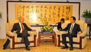 Vice Foreign Minister Wang Chao Meets with Deputy State Secretary of the Federal Department of Foreign Affairs Beat Nobs of Switzerland