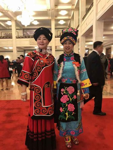 More Chinese women elected to seats at NPC, CPPCC