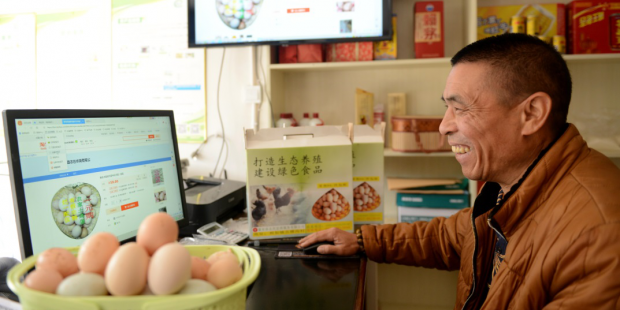 829 million Chinese have internet access, double the population of the US