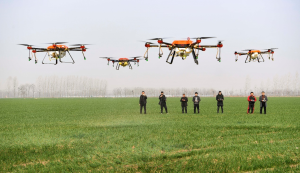Drones facilitate people's lives in China